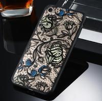 Чехол-накладка на Apple iPhone 7/8/SE2, пластик, полупрозрачный, узор 1