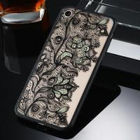 Чехол-накладка на Apple iPhone 7/8 Plus, пластик, полупрозрачный, узор 3