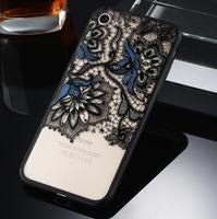 Чехол-накладка на Apple iPhone 7/8 Plus, пластик, полупрозрачный, узор 4