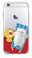 Чехол-накладка на Apple iPhone 7/8/SE2, силикон, 3D, игрушка кот, рис 2