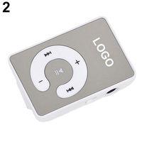 MP3-плеер, клипса, пластик, microSD, белый