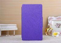 Чехол Smart-cover для Samsung Galaxy Tab S 8.4, полиуретан, текстура, фиолетовый