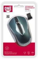 Мышь беспроводная, Smart Buy 329AG-B ONE, оптическая, 3кн, бирюзовый