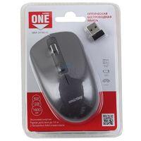 Мышь беспроводная, Smart Buy 345AG ONE, оптическая, 3кн, серый