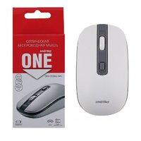 Мышь беспроводная, Smart Buy 359G-WG ONE, оптическая, 3кн, бело-серый