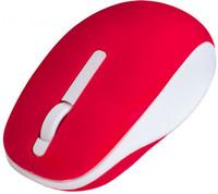 Мышь беспроводная, Perfeo FUNNY, оптическая, 3кн, красно-белый (PF_A4503)