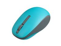 Мышь беспроводная, Perfeo FUNNY, оптическая, 3кн, серо-голубой (PF_A4502)
