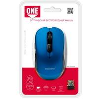 Мышь беспроводная, Smart Buy 200 SBM-200AG-B ONE, оптическая, 5кн, синий