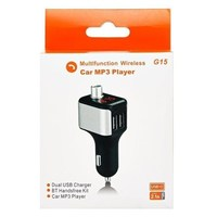 FM-модулятор, Bethco G15, Bluetooth, 2xUSB/microSD, пульт