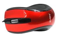 Мышь проводная, SVEN OP-16, оптическая, 3кн, оранжевый