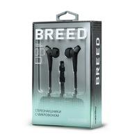 Гарнитура проводная, 3,5мм, Smart Buy BREED SBH-9000, вакуумная, 1.2 м, черный, серый