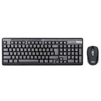 Набор беспроводной клавиатура + мышь, Dialog Pointer RF KMROP-4020 полноразмерная, мультимедия, черн