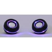 Активные колонки 2.0, Smart Buy UFO OPERA, (SBA-1400), 2x3W, подсветка, черный
