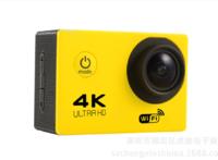 Экшн-камера, Noname, JS9000, 4К, Wi-Fi, IP68, желтый