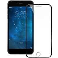 Защитное стекло Apple iPhone 5/5S/SE 3D, окантовка на дисплей, черный