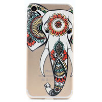 Чехол-накладка на Apple iPhone 7/8, силикон, ультратонкий, узор слон
