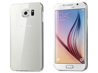 Чехол-накладка на Samsung S6 силикон, ультратонкий, прозрачный