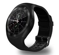 Смарт-часы Y1, microSim, 240*240 TFT, BT, microSD, черный