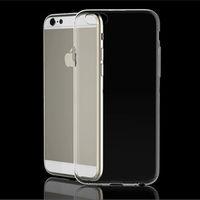 Чехол-накладка на Apple iPhone 6/6S, силикон, ультратонкий, прозрачный