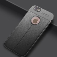 Чехол-накладка на Apple iPhone 6/6S, силикон, под кожу, YOYIC, серый