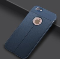 Чехол-накладка на Apple iPhone 7/8, силикон, под кожу, YOYIC, синий