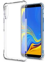 Чехол-накладка на Samsung A7 (A750) (2018) силикон, ультратонкий, прозрачный