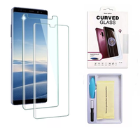 Защитное стекло Samsung Galaxy S9 на дисплей, 4D, Full Glue, Full Screen, UV, прозрачный