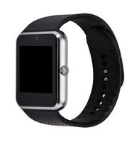 Смарт-часы GT08, microSim, 240*240 TFT, BT, 0,3Mp cam, microSD, серебристый