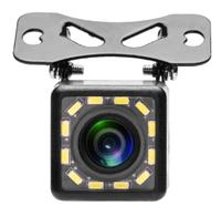 Камера заднего вида Podofo, внешняя, 12 диодов, черный (без кабелей)