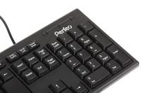 Клавиатура проводная Perfeo Classic (PF-6106-USB), USB, черный