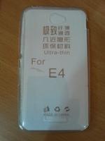 Чехол-накладка на Sony Xperia Е4 силикон, ультратонкий, прозрачный