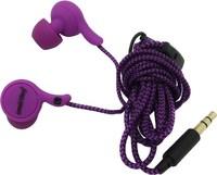 Наушники Smart Buy MANGA, вакуумные, 1.2 м. фиолетовые (SBE-1030)