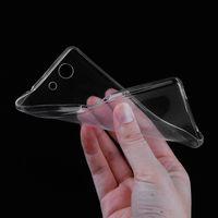 Чехол-накладка на Sony Xperia M5 силикон, ультратонкий, прозрачный