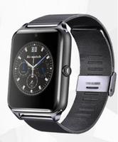 Смарт-часы GT08, microSim, 240*240 TFT, BT, 0,3Mp cam, microSD, железный ремешок, графитовый