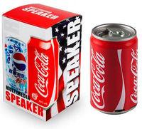 Портативная колонка, Noname, Coca-cola, FM Radio, microSD, AUX, USB