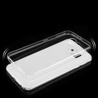 Чехол-накладка на Samsung S6 Edge Plus силикон, ультратонкий, прозрачный