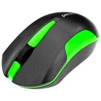 Мышь беспроводная, Perfeo SONATA, оптическая, 3кн, черно-зеленый