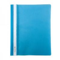 Скоросшиватель для файлов, inФОРМАТ, пластиковый, 150мкм, голубой