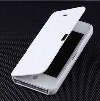 Чехол-книжка на Samsung S3 полиуретан, белый