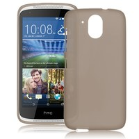Чехол-накладка на HTC Desire 526 силикон, серый