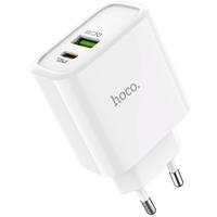 Сетевое зарядное устройство USB, Hoco C57A Speed, 3A, 1xUSB, PD, QC3.0, белый