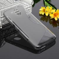 Чехол-накладка на HTC Desire 526 силикон, S-line, серый