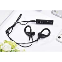 Наушники с микрофоном, Noname ST-005, Bluetooth, стерео, черный