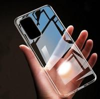 Чехол-накладка на Samsung S20 FE силикон, ультратонкий, прозрачный