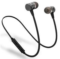 Наушники с микрофоном, SOONHUA, Bluetooth, sBASS, стерео, черный