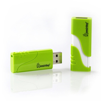 Память USB 2.0 Flash, 64GB, Smart Buy Hatch Green