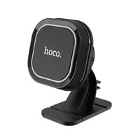 Автомобильный держатель, Hoco CA53, самоклеющийся, магнитный, черный