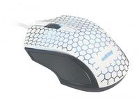 Мышь проводная, Smart Buy 334, оптическая, 3кн, белый