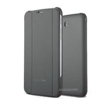 Чехол Smart-cover для Samsung Galaxy Tab 3 7.0, полиуретан, серый