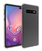 Чехол-накладка на Samsung S10 Plus силикон, ультратонкий, прозрачный